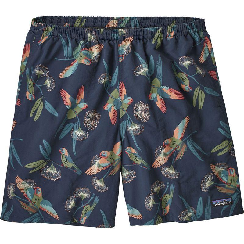 パタゴニア メンズ ハーフパンツ・ショーツ ボトムス Mens Baggies Longs Shorts - 7 in S - Parrots: Stone Blue