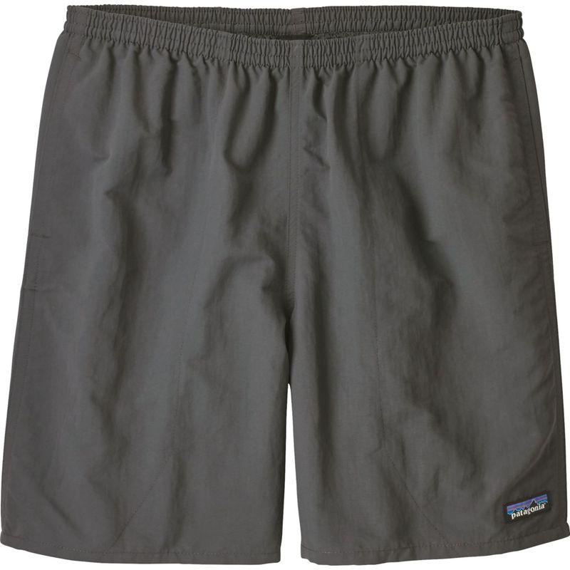 パタゴニア メンズ ハーフパンツ・ショーツ ボトムス Mens Baggies Longs Shorts - 7 in XS - Forge Grey