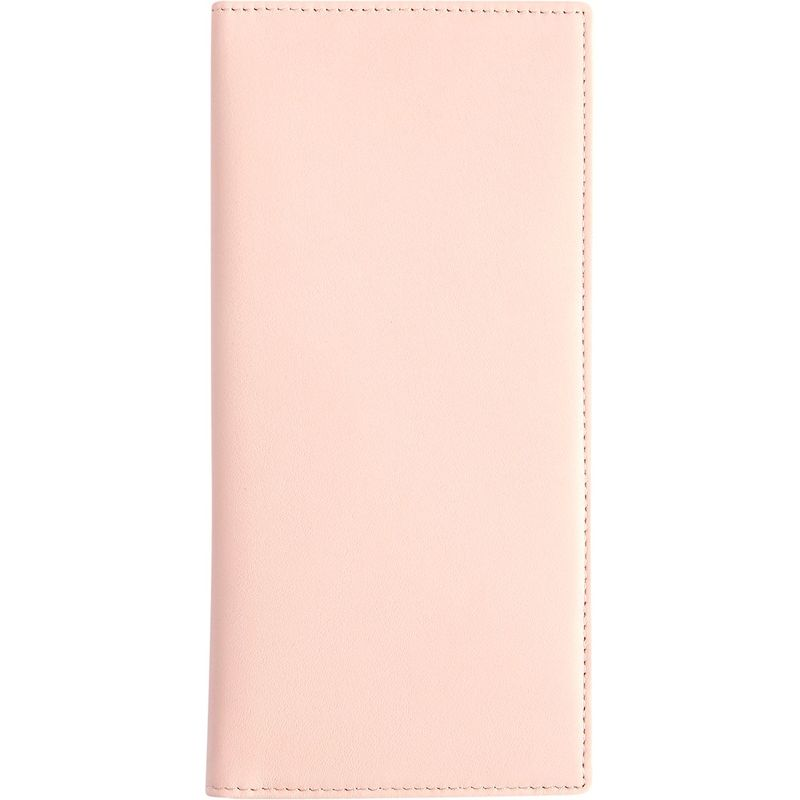 ロイスレザー メンズ 財布 アクセサリー RFID Blocking Passport Document Organizer Carnation Pink