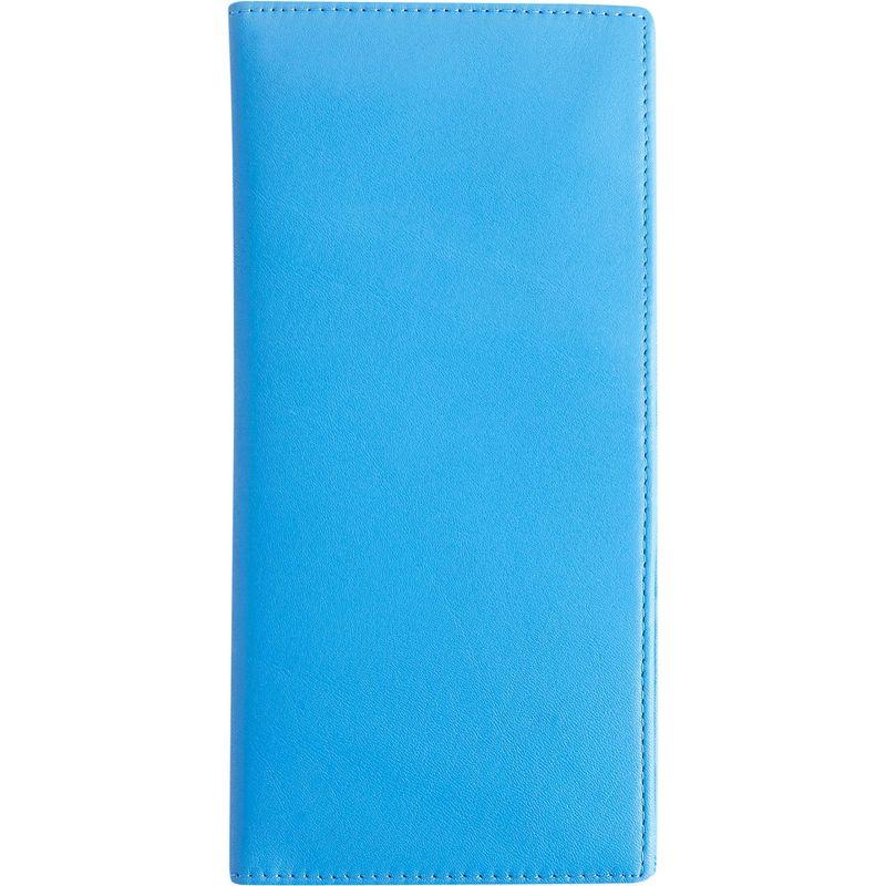 ロイスレザー メンズ 財布 アクセサリー RFID Blocking Passport Document Organizer Royce Blue
