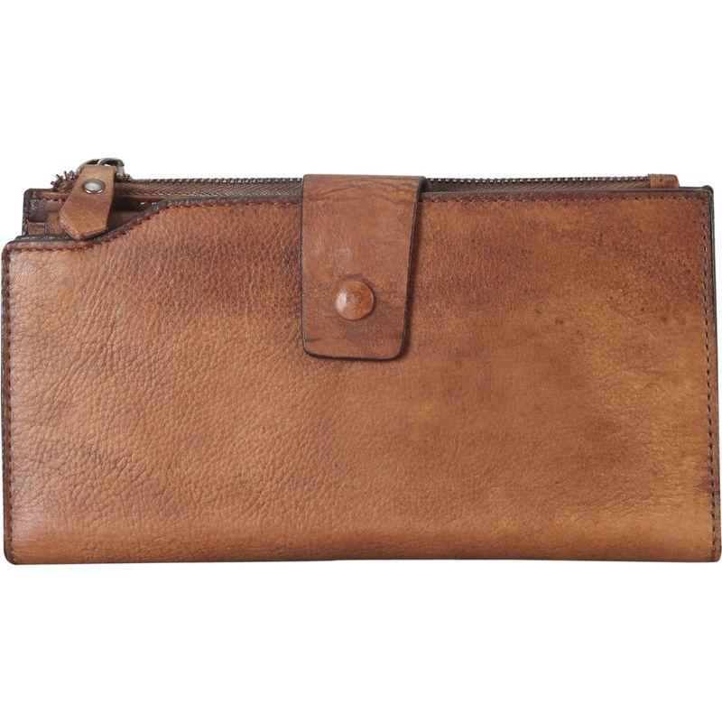 ディオフィ メンズ 財布 アクセサリー Distressed Triple Compartments Wallet Brown
