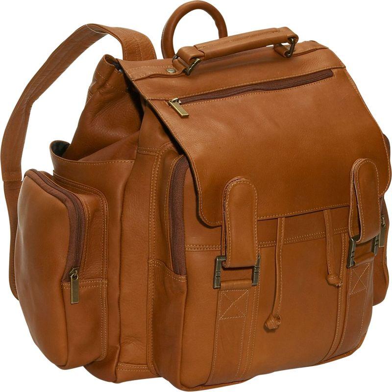 デビッドキング メンズ ハンドバッグ バッグ Top Handle Backpack Tan