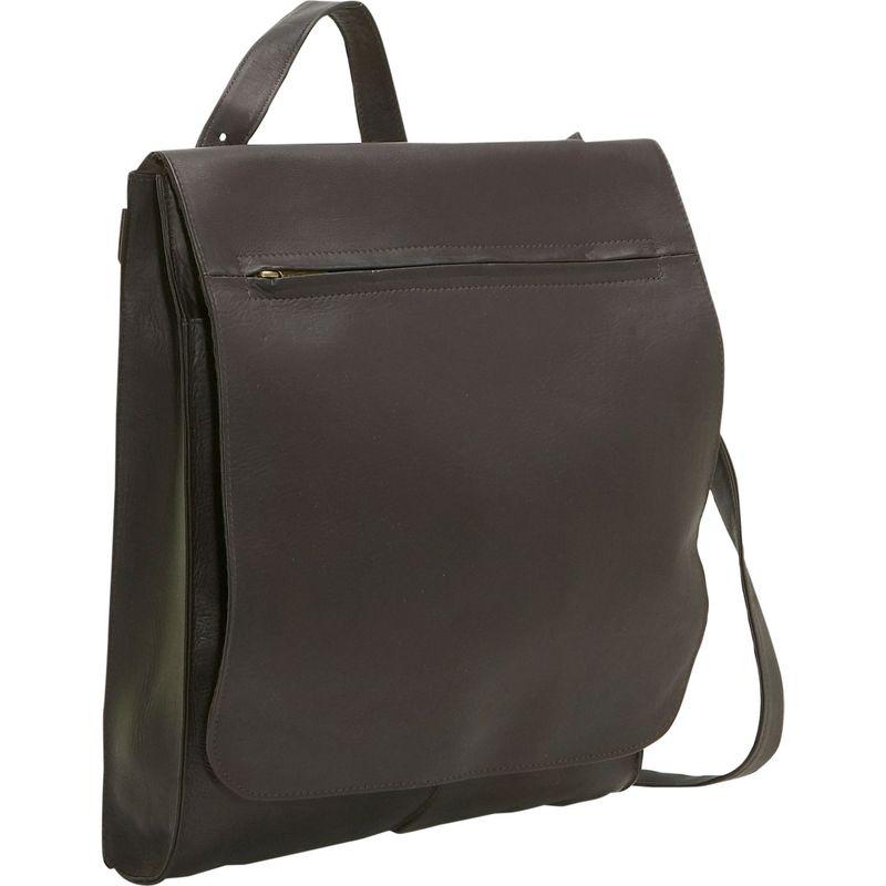 ルドネレザー メンズ ハンドバッグ バッグ Organizer Shoulder Bag/Back Pack Cafe