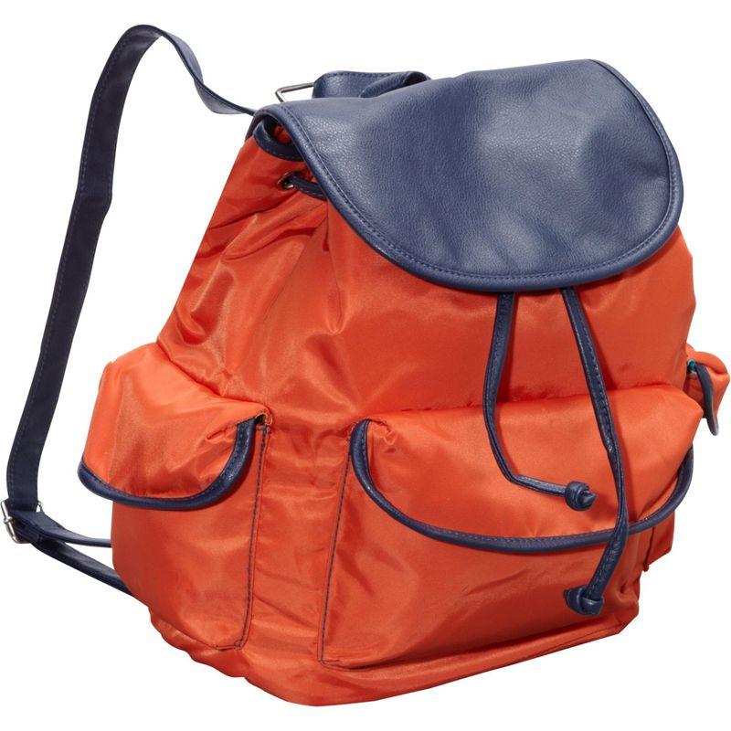 ハダキ メンズ ハンドバッグ バッグ Market Pack Orange/Navy