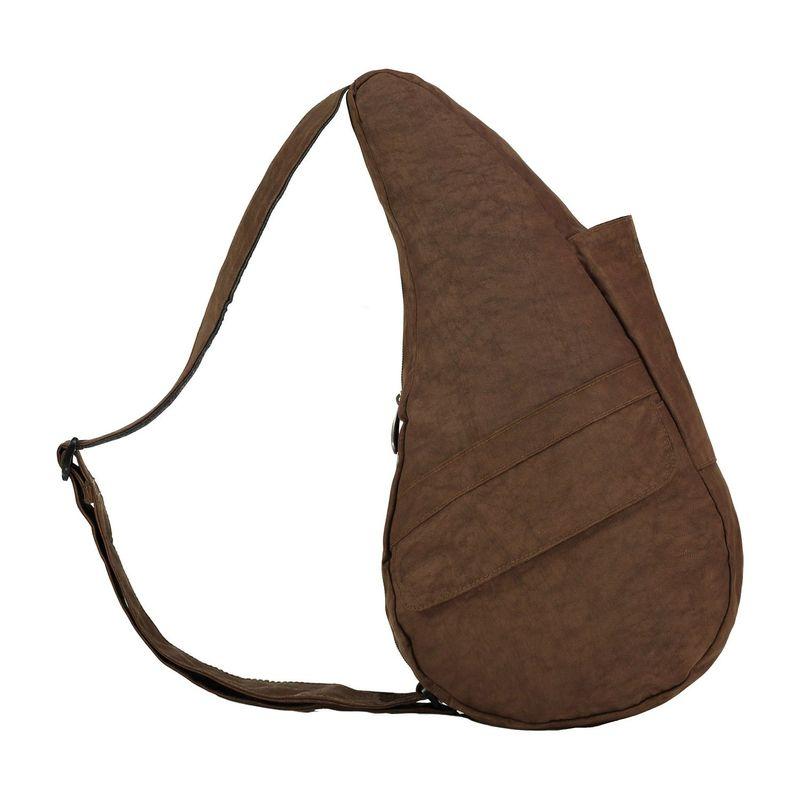 アメリバッグ メンズ ハンドバッグ バッグ Healthy Back Bag ? Distressed Nylon Small Brown