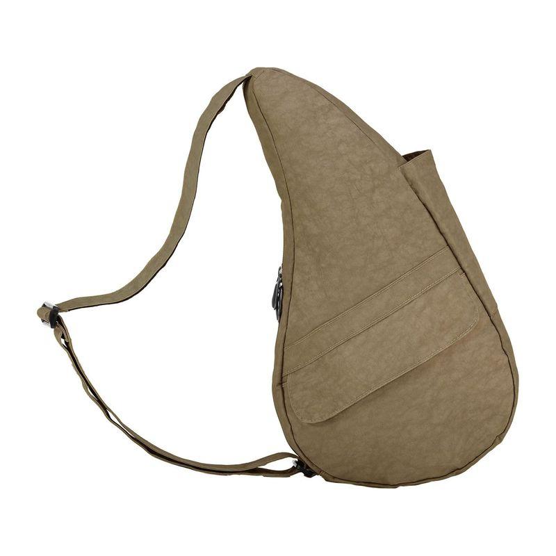 アメリバッグ メンズ ハンドバッグ バッグ Healthy Back Bag ? Distressed Nylon Small Taupe
