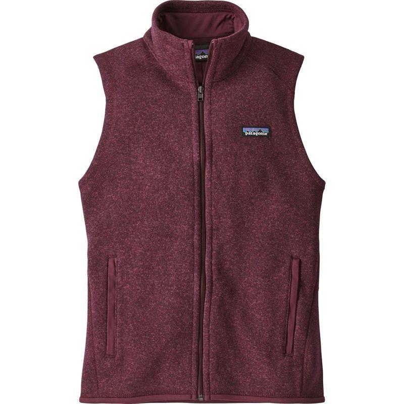 パタゴニア レディース ニット・セーター アウター Womens Better Sweater Vest S - Dark Currant - Discontinued
