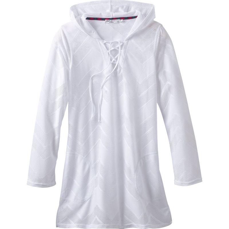 プラーナ レディース シャツ トップス Alexia Tunic XS - White Crochet