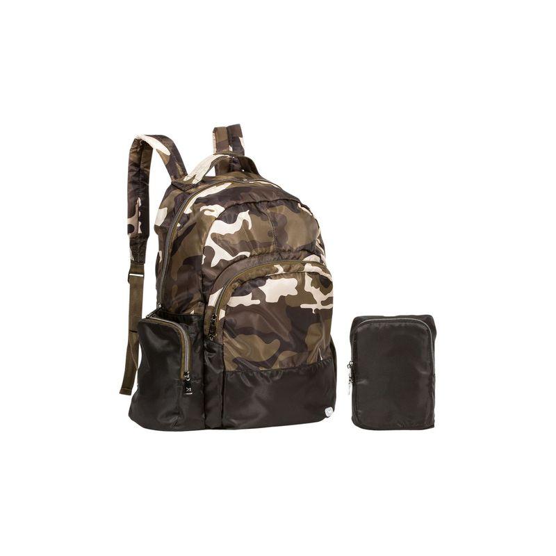 ラグ メンズ バックパック・リュックサック バッグ Echo Packable Backpack Brushed Camo Olive