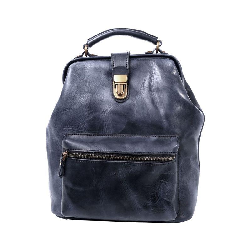 オールドトレンド メンズ ハンドバッグ バッグ Doctor Backpack Convertible Black