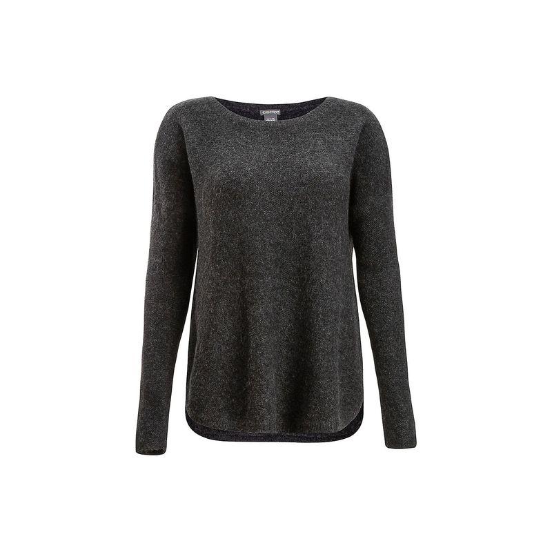 エクスオフィシオ レディース ニット・セーター アウター Womens Pontedera Bateau Neck Shirt S - Charcoal Heather