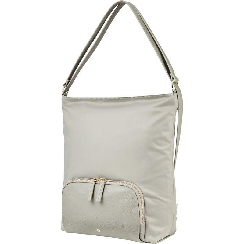 サムソナイト メンズ ハンドバッグ バッグ Encompass Womens Convertible Hobo Laptop Backpack Stone