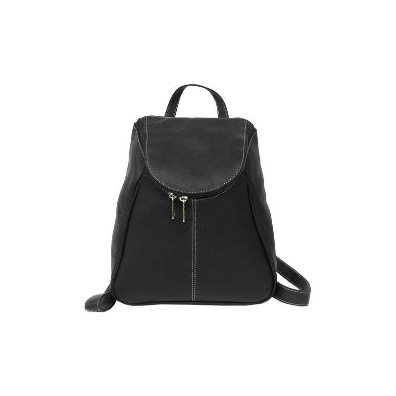 ピエール メンズ ハンドバッグ バッグ U-Zip Flap Backpack Black