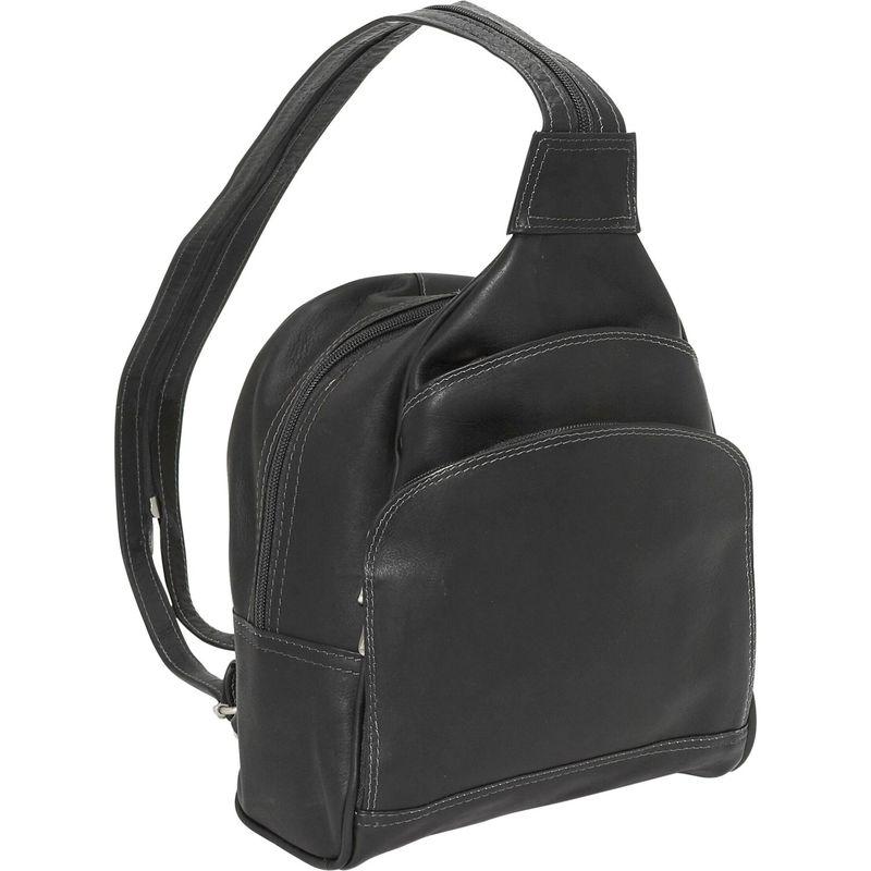 ピエール メンズ ハンドバッグ バッグ Three-Pocket Sling Bag Black