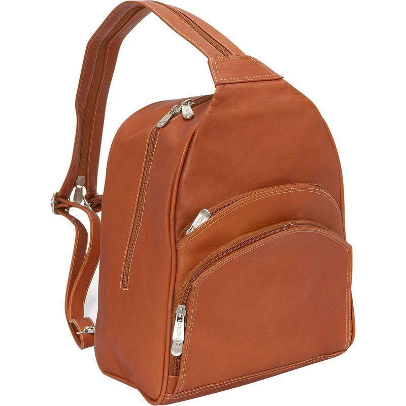 ピエール メンズ ハンドバッグ バッグ Three-Pocket Sling Bag Saddle