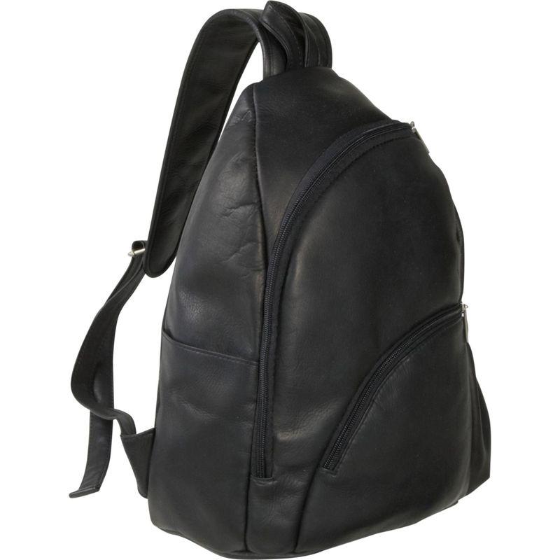 ルドネレザー メンズ ハンドバッグ バッグ Unisex Sling Pack Black
