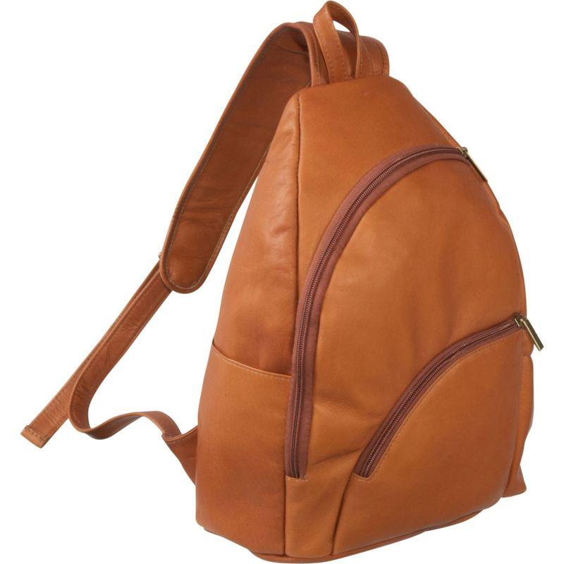 ルドネレザー メンズ ハンドバッグ バッグ Unisex Sling Pack Tan