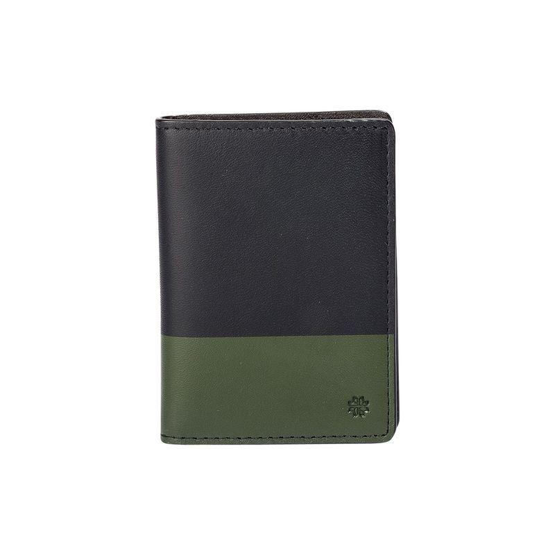 フック&アルバート メンズ 財布 アクセサリー Leather Vertical BiFold Brown/Olive