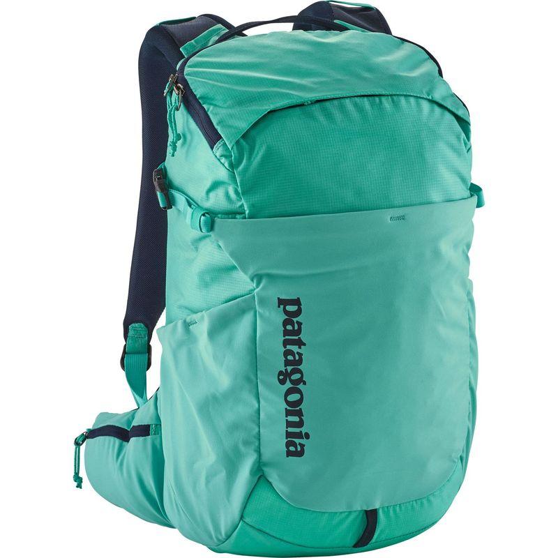 パタゴニア メンズ バックパック・リュックサック バッグ Womens Nine Trails Pack 18L Hiking Pack - L/XL Strait Blue - Discontinued
