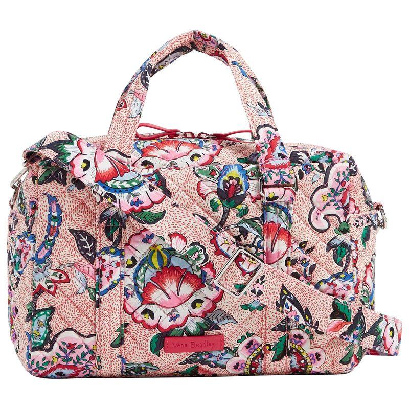 ベラブラッドリー メンズ ハンドバッグ バッグ Iconic 100 Handbag Stitched Flowers