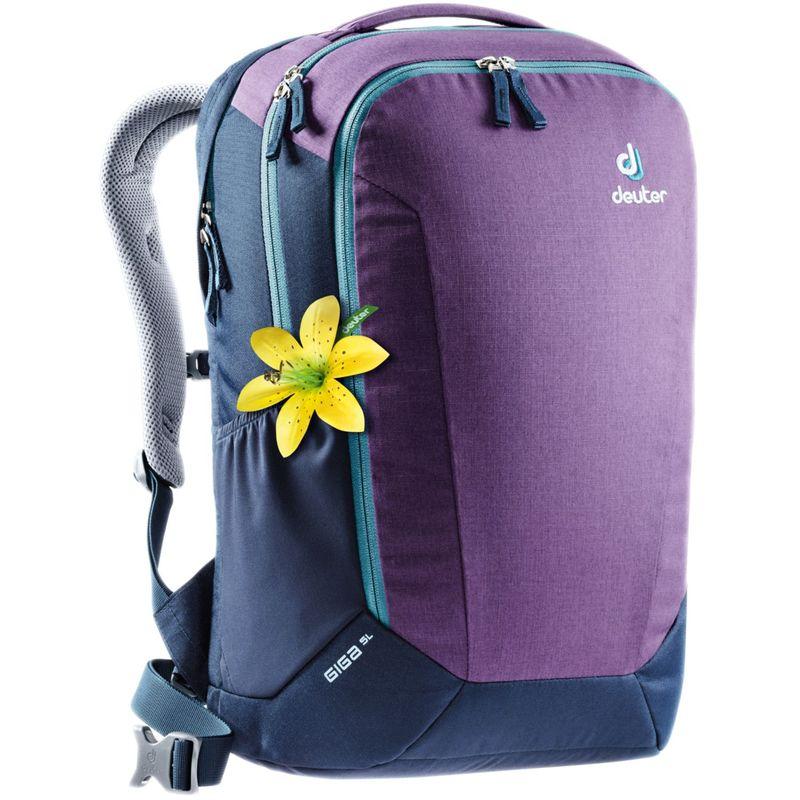 ドイター メンズ バックパック・リュックサック バッグ Women's Giga SL Laptop Backpack Plum/Navy