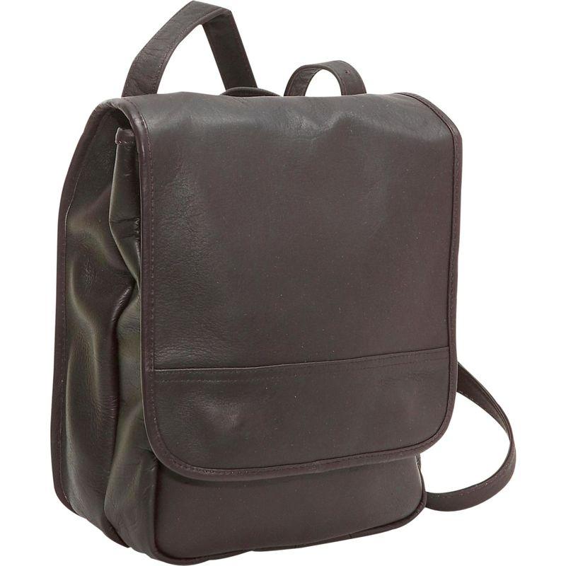 ルドネレザー メンズ ハンドバッグ バッグ Convertible Back Pack Shoulder Bag Cafe