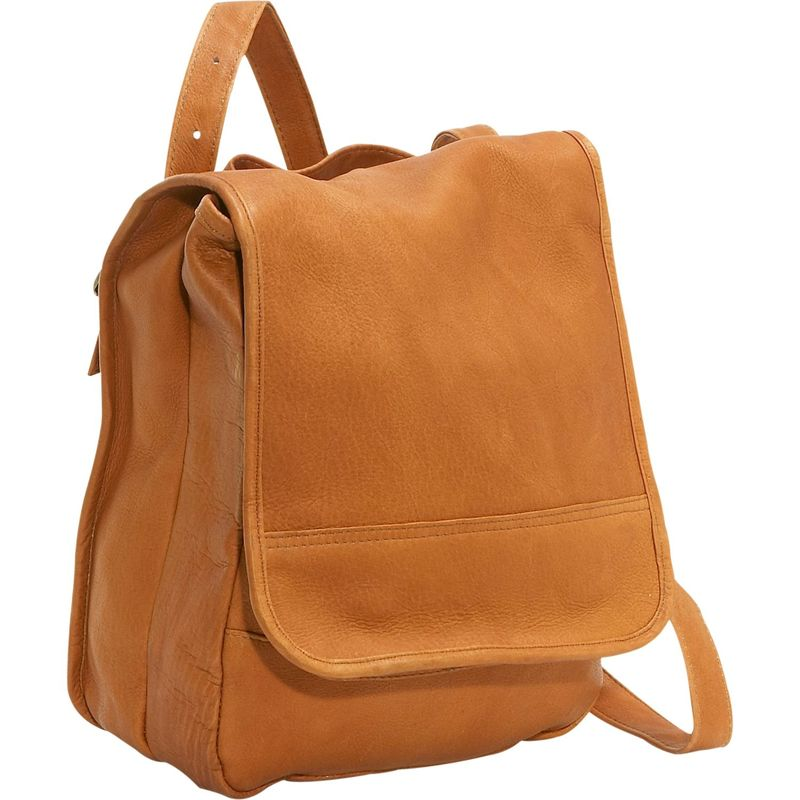 ルドネレザー メンズ ハンドバッグ バッグ Convertible Back Pack Shoulder Bag Tan