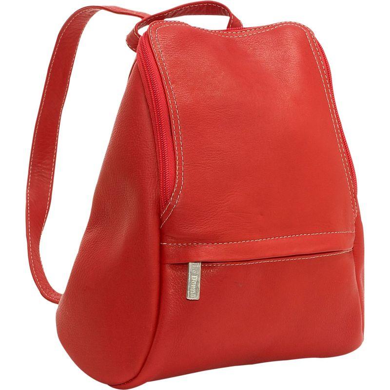 ルドネレザー メンズ ハンドバッグ バッグ U-Zip Mini Back Pack Red