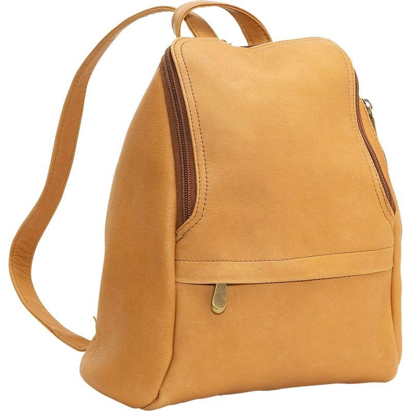 ルドネレザー メンズ ハンドバッグ バッグ U-Zip Mini Back Pack Tan
