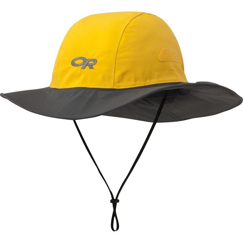 アウトドアリサーチ メンズ 帽子 アクセサリー Seattle Sombrero L - Yellow/Dark Grey - Large