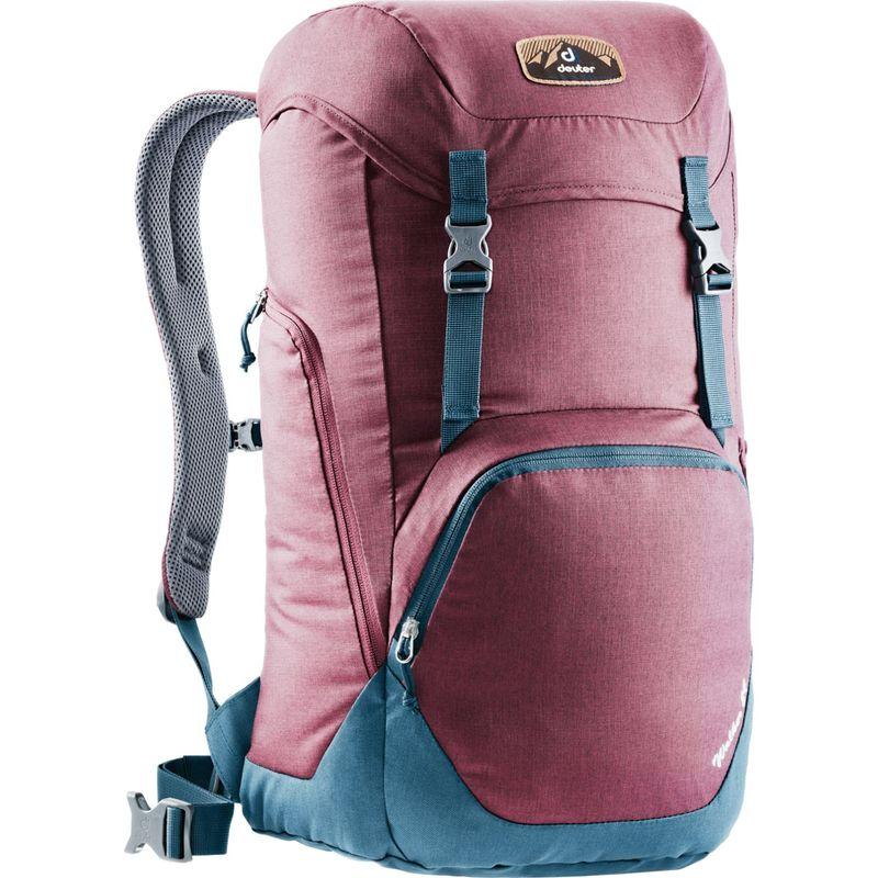 ドイター メンズ バックパック・リュックサック バッグ Walker 24 Hiking Pack Maroon/Midnight(53230)