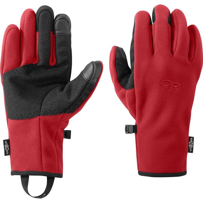 アウトドアリサーチ メンズ 手袋 アクセサリー Men's Gripper Sensor Gloves S - Tomato