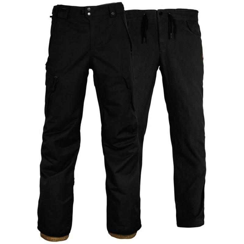 シックスエイトシックス メンズ カジュアルパンツ ボトムス Smarty? 3-in-1 Cargo Pants Black