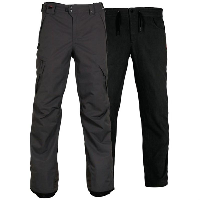 シックスエイトシックス メンズ カジュアルパンツ ボトムス Smarty? 3-in-1 Cargo Pants Charcoal
