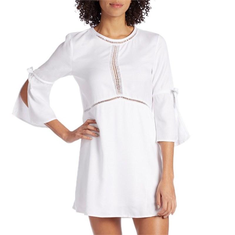 アミューズソサエティ レディース ワンピース トップス On The Go Dress - Women's White