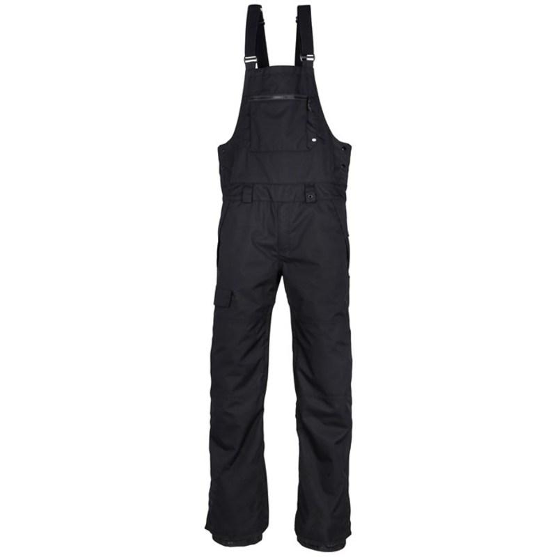 シックスエイトシックス メンズ カジュアルパンツ ボトムス Hot Lap Insulated Bibs Black