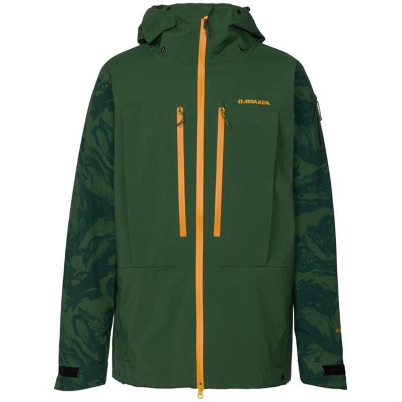 アルマダ メンズ ジャケット・ブルゾン アウター Balfour Gore-Tex Pro 3L Jacket Forest Green Marble