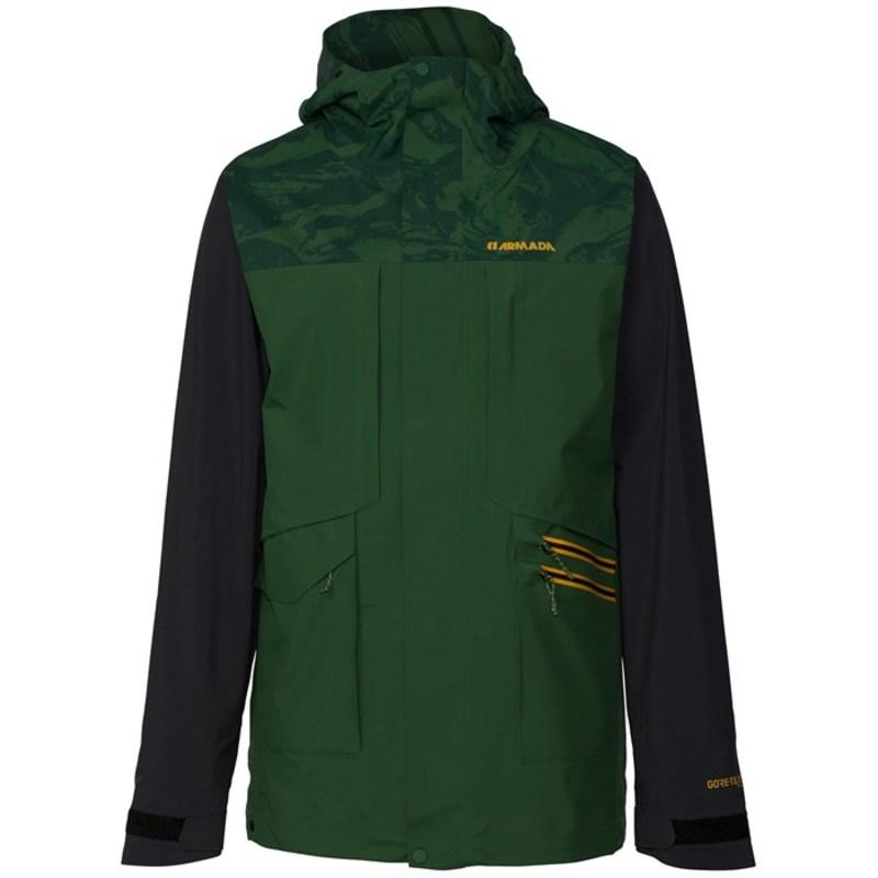 アルマダ メンズ ジャケット・ブルゾン アウター Lifted Gore-Tex 3L Jacket Forest Green Marble