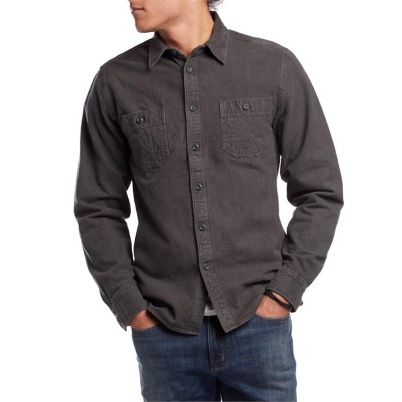 アーボー メンズ シャツ トップス Foundation Chamois Shirt Black