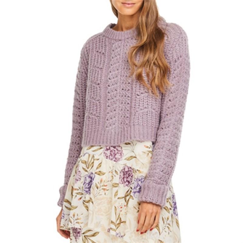アストラット レディース ニット・セーター アウター Georgia Sweater - Women's Lilac