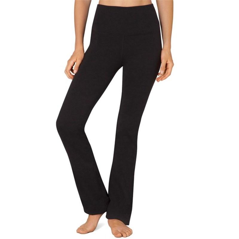 ビヨンドヨガ レディース カジュアルパンツ ボトムス High Waisted Practice Pants - Women's Jet Black