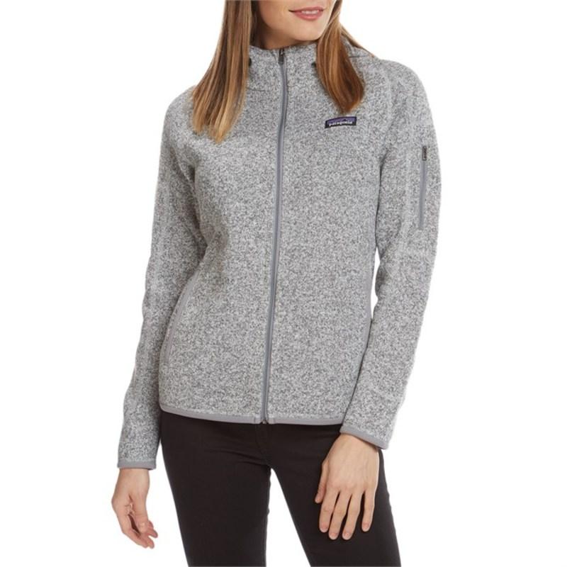 パタゴニア レディース パーカー・スウェット アウター Patagonia Better Sweater Hoodie - Women's Birch White