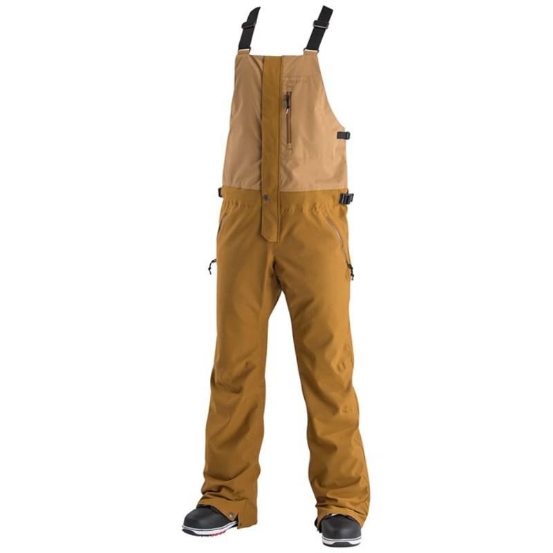 エアブラスター メンズ カジュアルパンツ ボトムス Airblaster Stretch Krill Bib Pants Grizzly