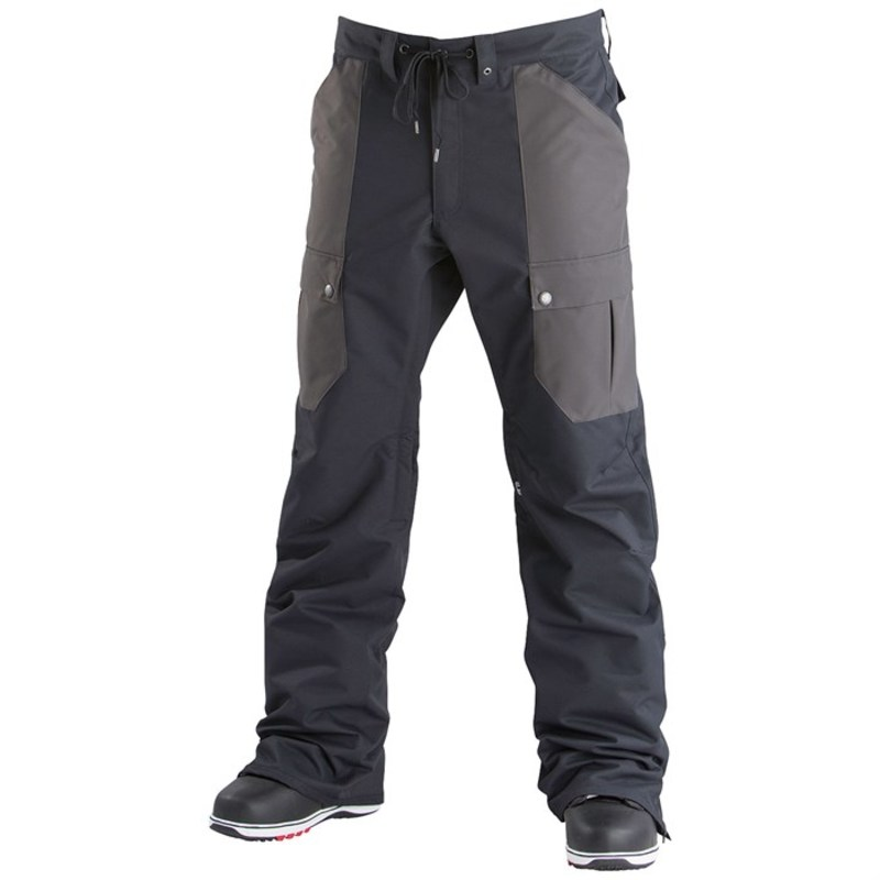 エアブラスター メンズ カジュアルパンツ ボトムス Airblaster Freedom Cargo Pants Black