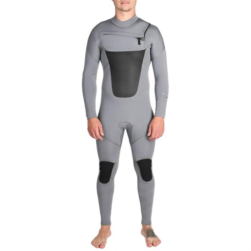 インペリアルモーション メンズ 上下セット 水着 Imperial Motion Lux Deluxe 4/3 Chest Zip Wetsuit Gunmetal