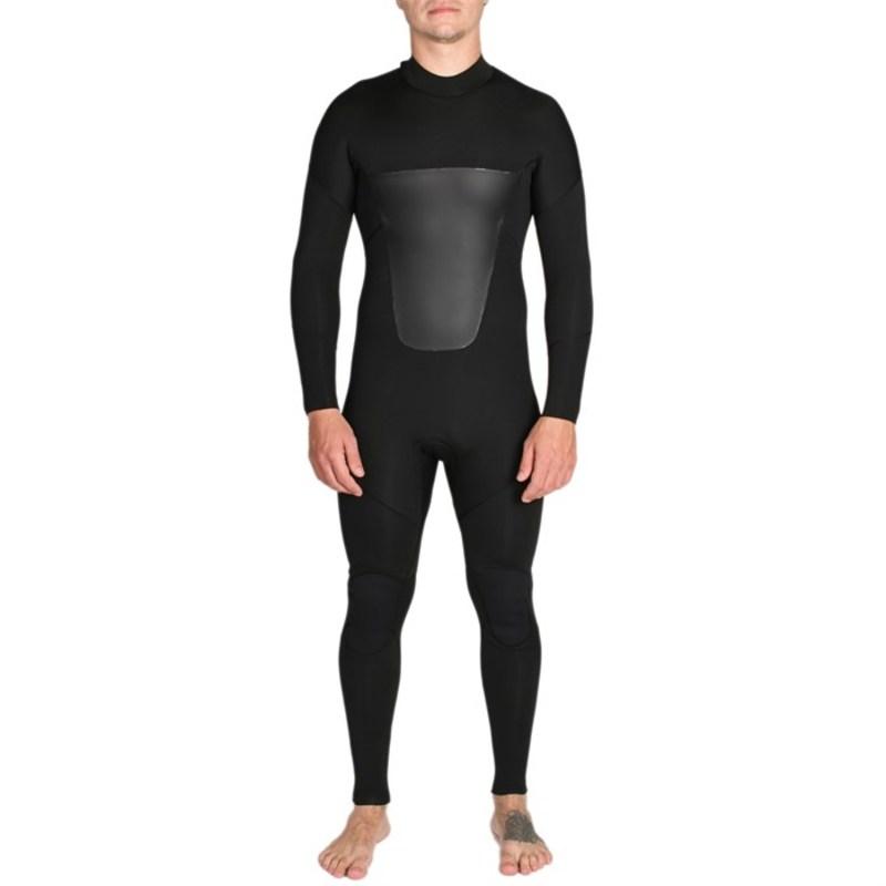 インペリアルモーション メンズ 上下セット 水着 Imperial Motion Lux Deluxe 3/2 Back Zip Wetsuit Black