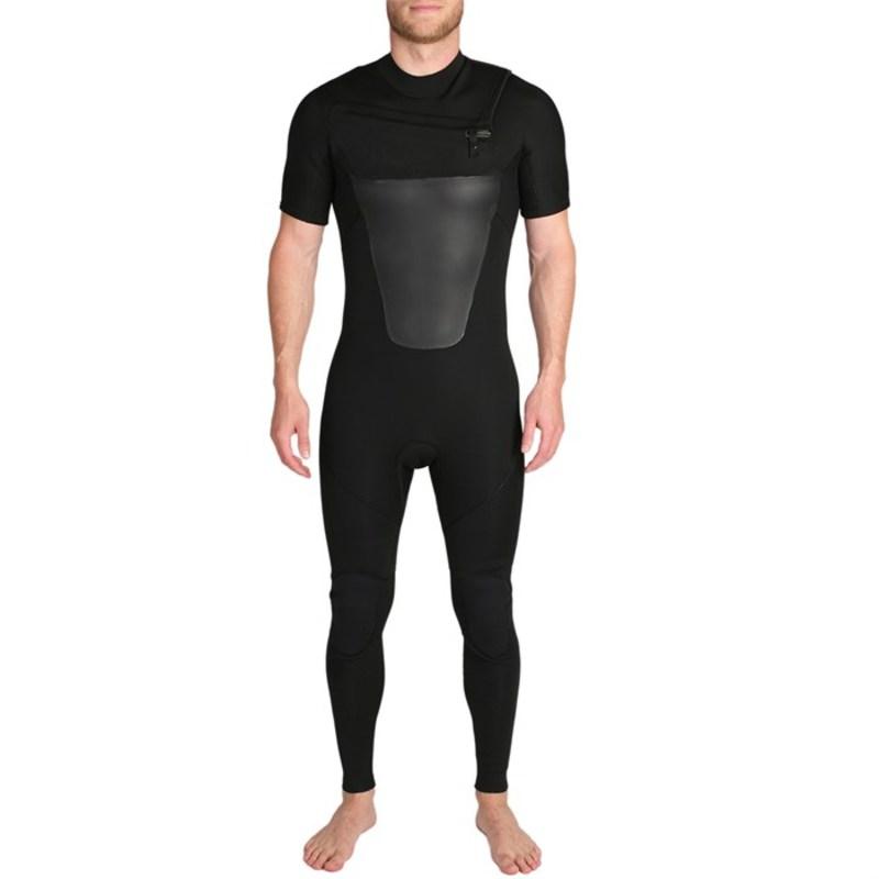 インペリアルモーション メンズ 上下セット 水着 Imperial Motion Lux Classic 3/2 Short-Sleeve Wetsuit Black