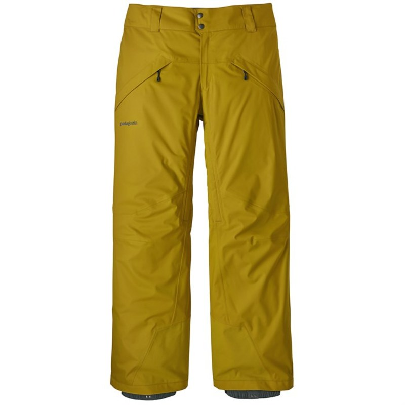 パタゴニア メンズ カジュアルパンツ ボトムス Patagonia Snowshot Pants Textile Green