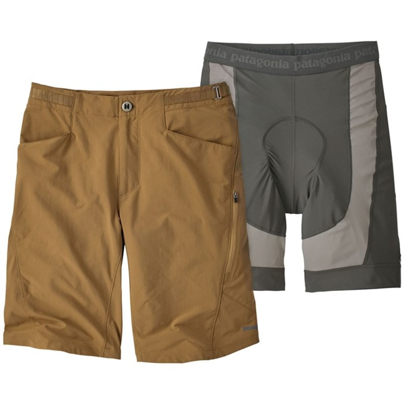 パタゴニア メンズ ハーフパンツ・ショーツ ボトムス Patagonia Dirt Craft Bike Shorts Coriander Brown