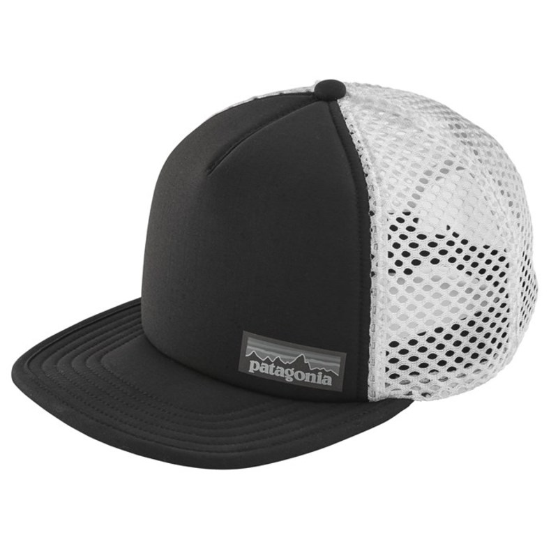 2c052331 Patagonia men hat accessories Patagonia Duckbill Trucker Hat Black